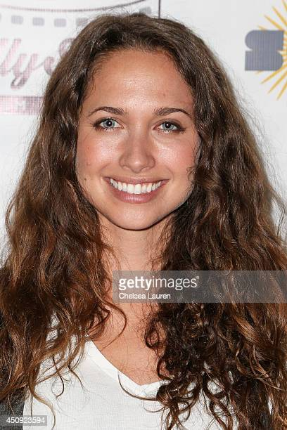 Actress Maiara Walsh arrives at the HollyShorts screening of 'Chocolate Milk' at TCL Chinese Theatre on June 19 2014 in Hollywood California