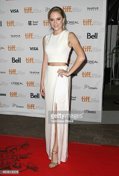 Actress Maika Monroe attends the It Follows premiere during the 2014 Toronto International Film Festival at Ryerson Theatre on September 7 2014 in...