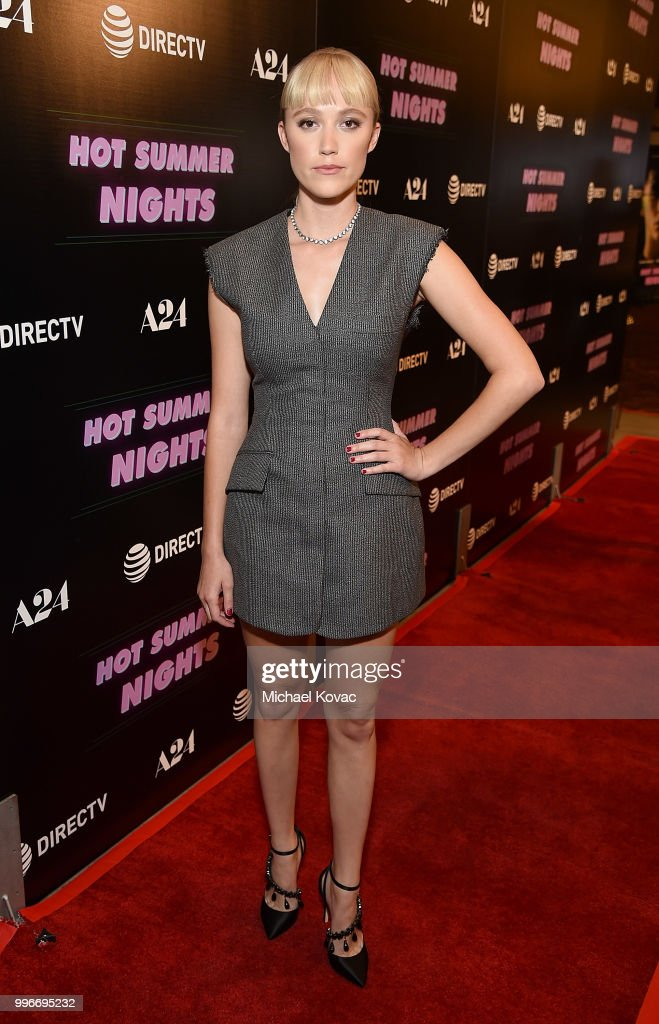 Actress Maika Monroe attends the Los Angeles Special Screening of 'Hot Summer Nights' on July 11, 2018 in Los Angeles, California.