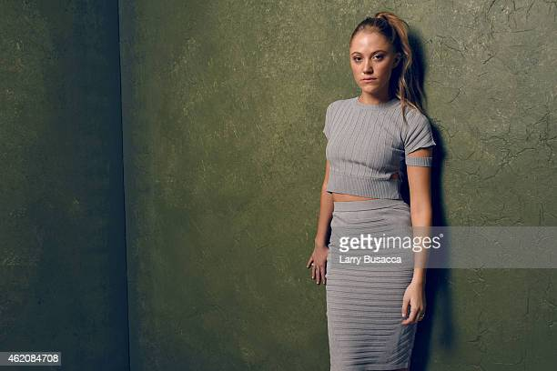 Actress Maika Monroe from 'It Follows' poses for a portrait at the Village at the Lift Presented by McDonald's McCafe during the 2015 Sundance Film...