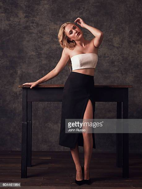 Actress Maika Monroe is photographed for 20th Century Fox on March 23, 2016 in Los Angeles, California.