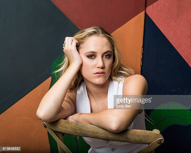 Actress Maika Monroe is photographed for The Hollywood Reporter on June 1, 2016 in Los Angeles, California. PUBLISHED IMAGE.