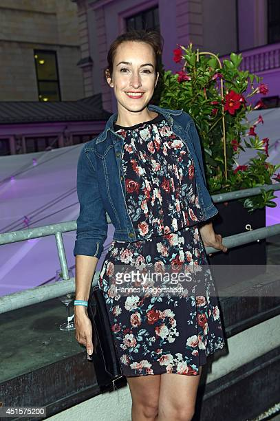 Actress Maike von Bremen attends the Bavaria Reception during the Munich Film Festival 2014 on July 1 2014 in Munich Germany
