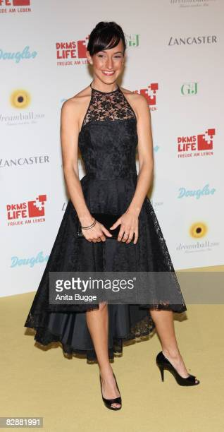 Actress Maike von Bremen attends the Dreamball 2008 charity gala in the Martin-Gropius Building on September 18, 2008 in Berlin, Germany.