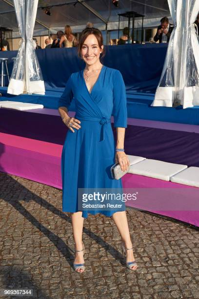 Actress Maike von Bremen attends the summer party 2018 of the German Producers Alliance on June 7 2018 in Berlin Germany