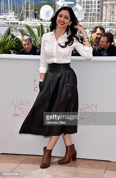 Actress Maisa Abd Elhadi attends the Personal Affairs photocall during the 69th annual Cannes Film Festival at the Palais des Festivals on May 12...