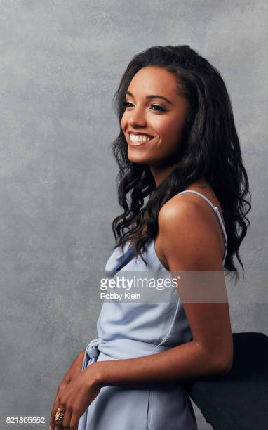 Actress Maisie RichardsonSellers from CW's 'Legends of Tomorrow' poses for a portrait during ComicCon 2017 at Hard Rock Hotel San Diego on July 22...