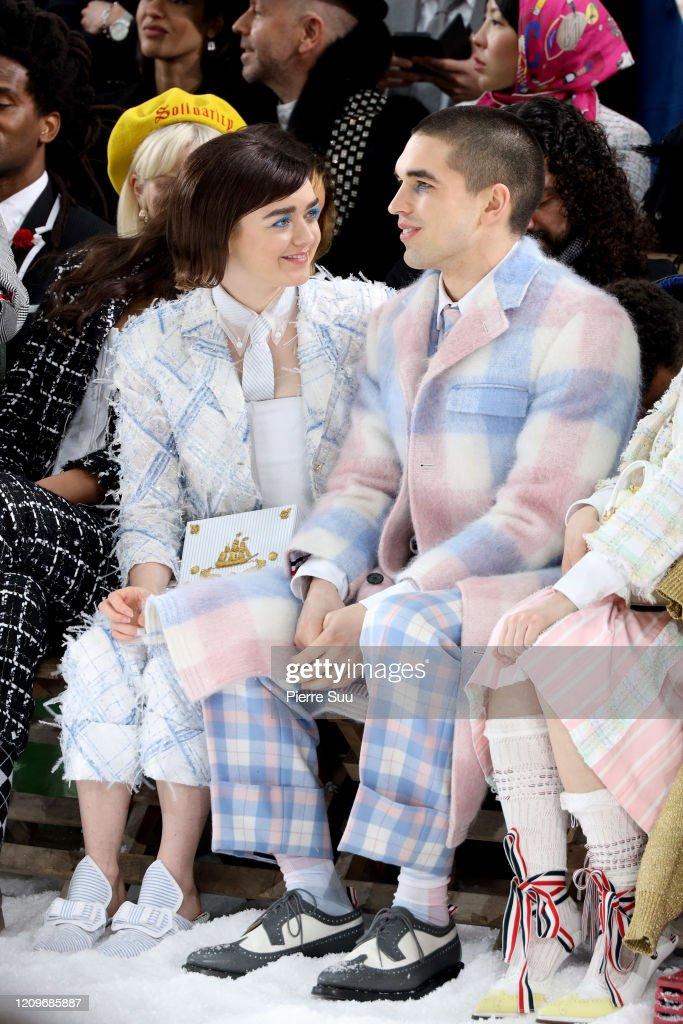 Thom Browne : Front Row - Paris Fashion Week Womenswear Fall/Winter 2020/2021 : Foto di attualità