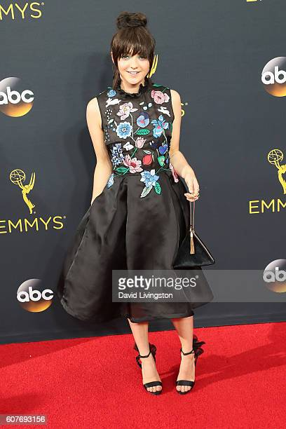 Actress Maisie Williams arrives at the 68th Annual Primetime Emmy Awards at the Microsoft Theater on September 18 2016 in Los Angeles California