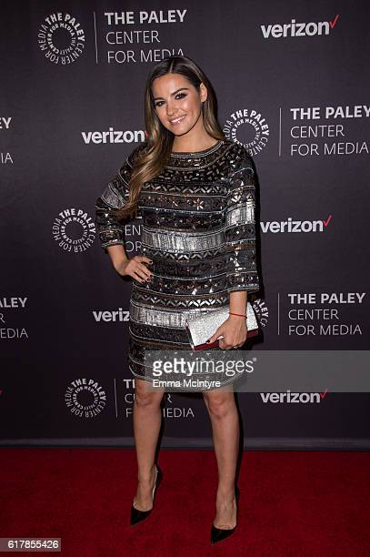 Actress Maite Perroni arrives at The Paley Center for Media's Hollywood Tribute to Hispanic Achievements in Television event at the Beverly Wilshire...