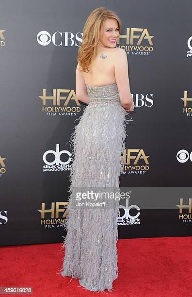 Actress Maitland Ward arrives at the 18th Annual Hollywood Film Awards at Hollywood Palladium on November 14 2014 in Hollywood California