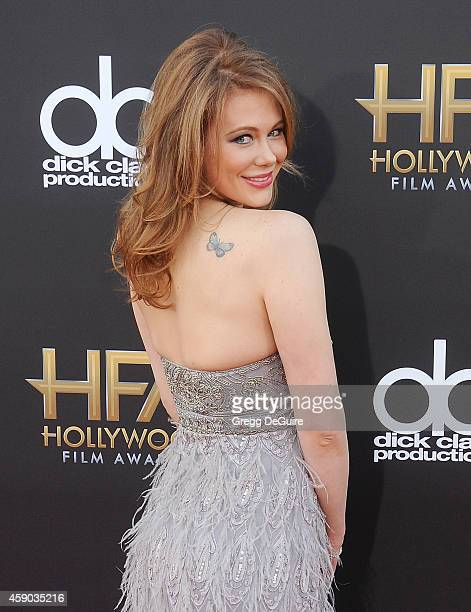 Actress Maitland Ward arrives at the 18th Annual Hollywood Film Awards at The Palladium on November 14 2014 in Hollywood California