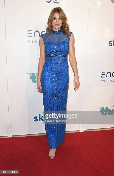 Actress Maitland Ward arrives at the 5th Annual Thirst Gala Hosted By Jennifer Garner In Partnership With Skyo And Relativity's Earth To Echo at The...