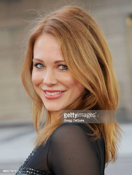 "Actress Maitland Ward arrives at the Los Angeles premiere of ""A Haunted House 2"" at Regal Cinemas L.A. Live on April 16, 2014 in Los Angeles,..."