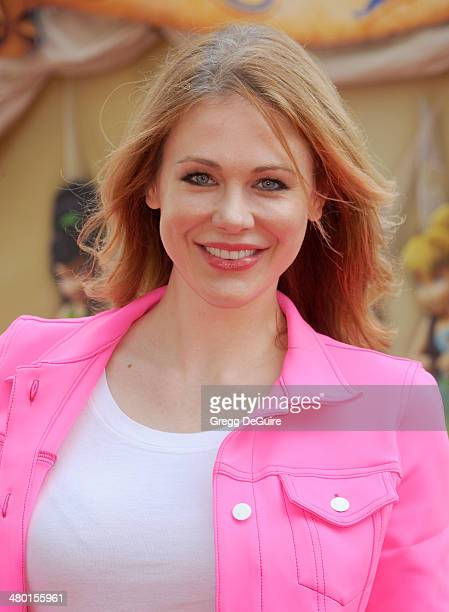 Actress Maitland Ward arrives at the Los Angeles premiere of Disney's The Pirate Fairy at Walt Disney Studio Lot on March 22 2014 in Burbank...