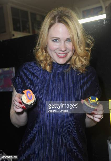Actress Maitland Ward at the Launch Party For All Time Comics held at Meltdown Comics and Collectibles on March 8 2017 in Los Angeles California