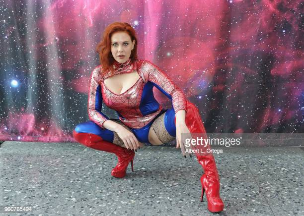 Actress Maitland Ward attends Comic Con Revolution held at the Ontario Convention Center on May 20 2018 in Ontario California