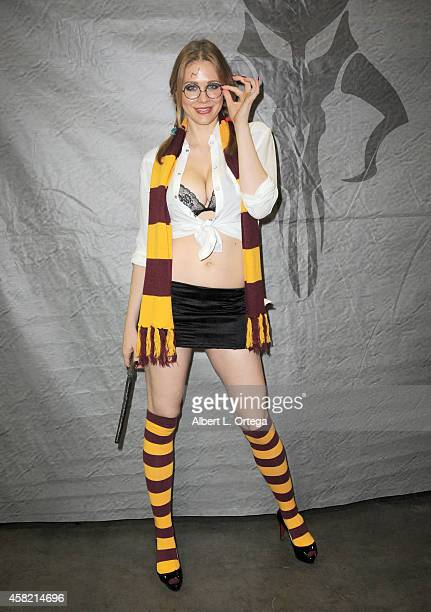 Actress Maitland Ward attends Day 1 of the Third Annual Stan Lee's Comikaze Expo held at Los Angeles Convention Center on October 31 2014 in Los...