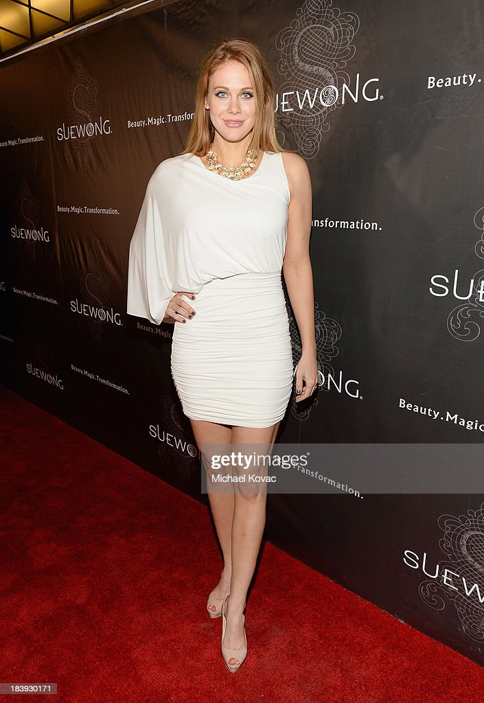 Actress Maitland Ward attends Sue Wong 'Jazz Babies' Spring 2014 Runway Show on October 9, 2013 in Los Angeles, California.