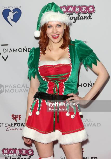 Actress Maitland Ward attends the 11th annual Babes In Toyland charity toy drive at Avalon on November 28 2018 in Hollywood California