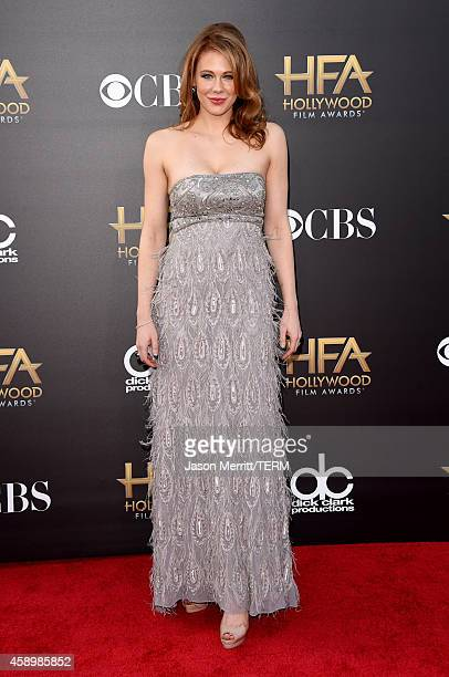 Actress Maitland Ward attends the 18th Annual Hollywood Film Awards at The Palladium on November 14, 2014 in Hollywood, California.