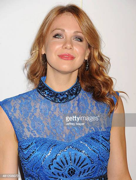 Actress Maitland Ward attends the 5th Annual Thirst Gala hosted by Jennifer Garner in partnership with Skyo and Relativity's 'Earth To Echo' on June...
