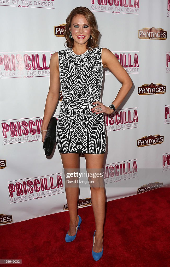 Actress Maitland Ward attends the Los Angeles theatre premiere of 'Priscilla Queen of the Desert' at the Pantages Theatre on May 29, 2013 in Hollywood, California.