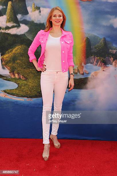 Actress Maitland Ward attends the premiere of DisneyToon Studios' 'The Pirate Fairy' at Walt Disney Studios on March 22 2014 in Burbank California
