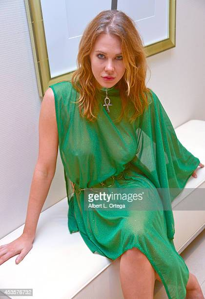 Actress Maitland Ward cosplays Jessica 6 from 'Logan's Run' on Day 3 of ComicCon International 2014 at The Bayfront Hilton Hotel on July 26 2014 in...