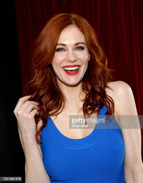 Actress Maitland Ward poses at the 2020 AVN Adult Entertainment Expo at the Hard Rock Hotel & Casino on January 23, 2020 in Las Vegas, Nevada.