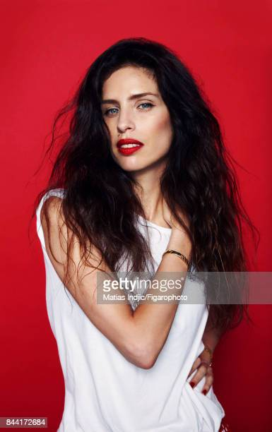 Actress Maiwenn is photographed for Madame Figaro on June 21 2017 in Paris France Tshirt bracelet watch COVER IMAGE CREDIT MUST READ Matias...