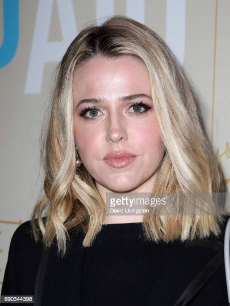 Actress Majandra Delfino attends the premiere of IFC Films   Band Aid  at  The cd832c566a02