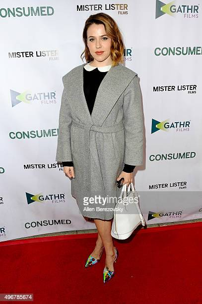Actress Majandra Delfino attends the premiere of Mister Lister Film s   Consumed  at Laemmle Music 127d47277d98