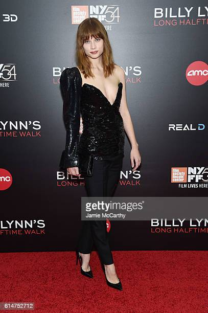 Actress Makenzie Leigh attends Billy Lynn's Long Halftime Walk during 54th New York Film Festival at AMC Lincoln Square Theater on October 14 2016 in...
