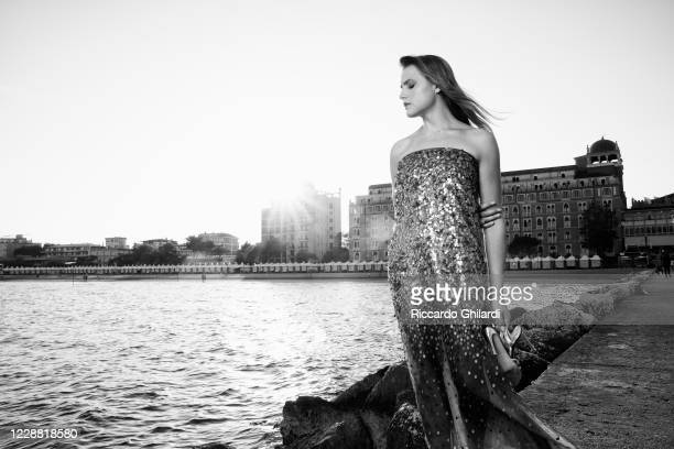 Actress Mala Emde poses for a portrait during the 77th Venice Film Festival on September, 2020 in Venice, Italy.