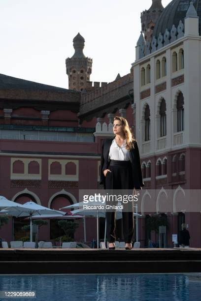 Actress Mala Emde poses for a portrait during the 77th Venice Film Festival on September 9, 2020 in Venice, Italy.