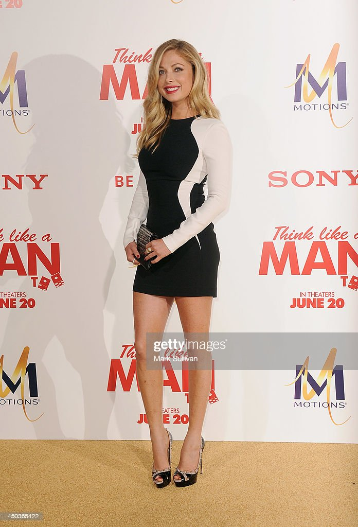 Actress Malea Rose arrives for the premiere of 'Think Like A Man Too' at TCL Chinese Theatre on June 9, 2014 in Hollywood, California.