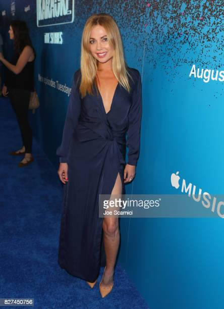 Actress Malea Rose at Apple Music Launch Party Carpool Karaoke The Series with James Corden on August 7 2017 in West Hollywood California