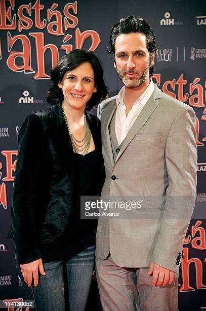 Actress Malena Alterio and Actor Ernesto Alterio attend Estas Ahi premiere at Palafox cinema on May 12 2011 in Madrid Spain