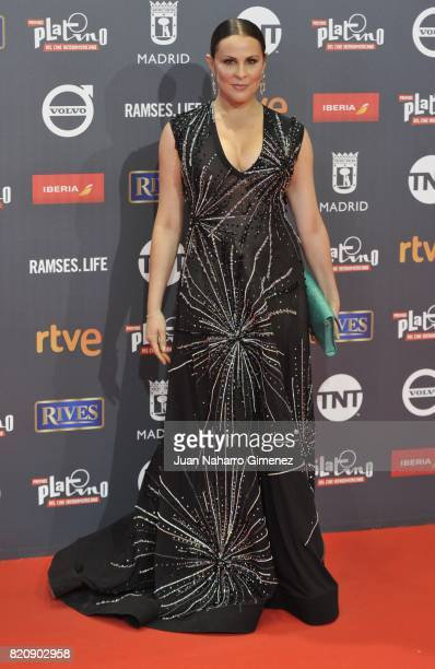 Actress Malena Gonzalez attends the 'Platino Awards 2017' photocall at La Caja Magica on July 22, 2017 in Madrid, Spain.