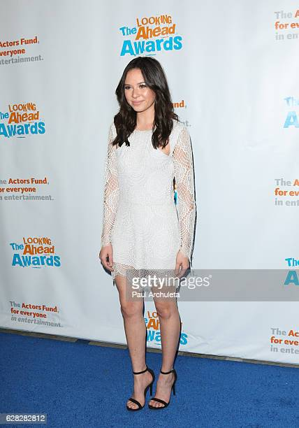 Actress Malese Jow attends the Actors Fund's 2016 'Looking Ahead' awards at Taglyan Complex on December 6 2016 in Los Angeles California
