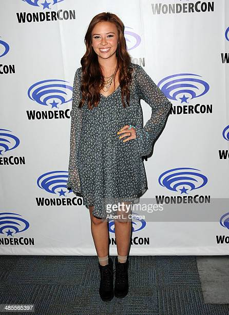 Actress Malese Jow attends WonderCon Anaheim 2014 Day 1 held at the Anaheim Convention Center on April 18 2014 in Anaheim California