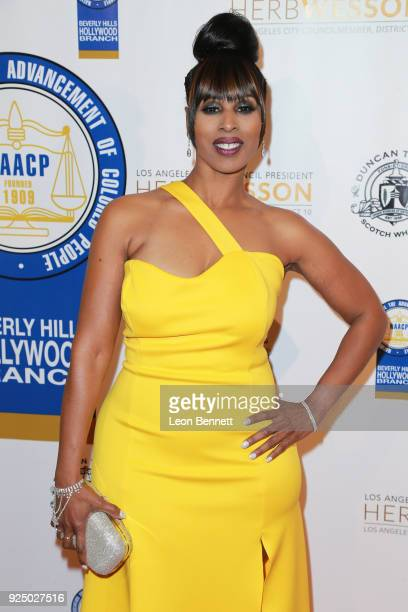 Actress Malika Blessing the 27th Annual NAACP Theatre Awards at Millennium Biltmore Hotel on February 26 2018 in Los Angeles California