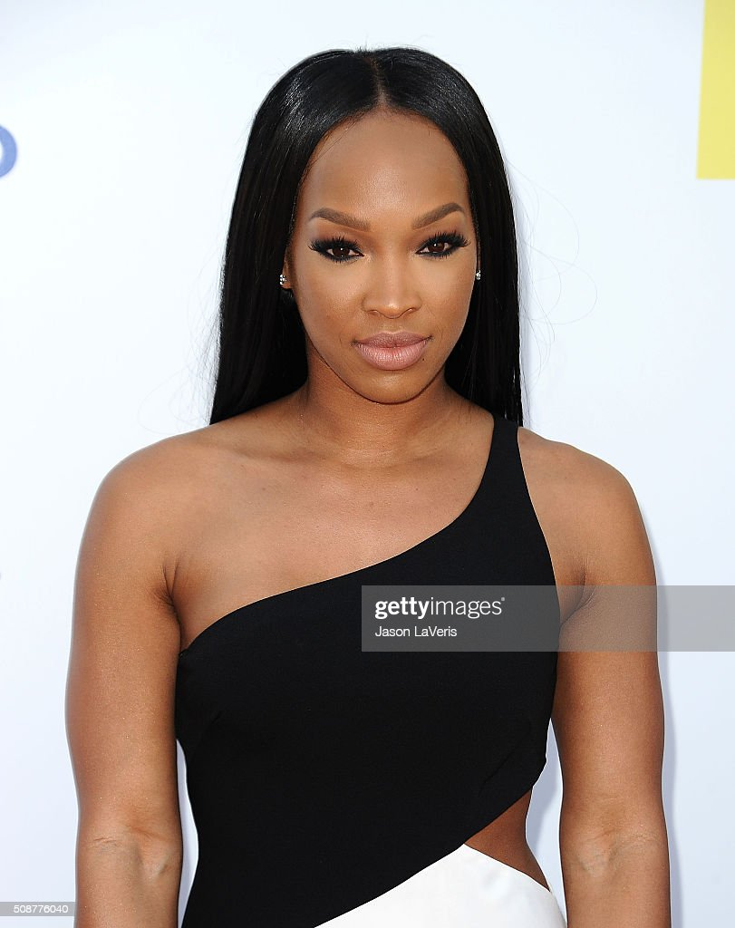 Actress Malika Haqq attends the 47th NAACP Image Awards at Pasadena Civic Auditorium on February 5, 2016 in Pasadena, California.