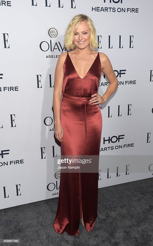 Actress Malin Ackerman attends ELLE's 6th Annual Women In Television Dinner at Sunset Tower Hotel on January 20, 2016 in West Hollywood, California.