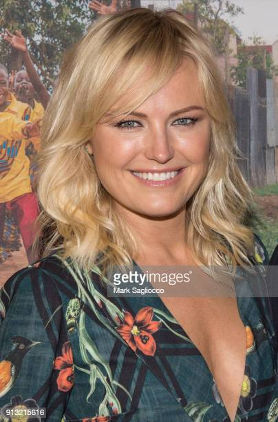 Actress Malin Ackerman attends the 2018 African Children's Choir Change Makers Gala at City Winery on February 1 2018 in New York City