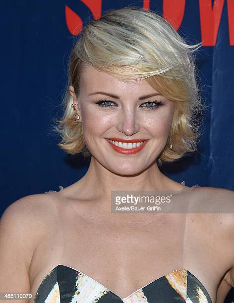 Actress Malin Akerman arrives at CBS, CW And Showtime 2015 Summer TCA Party at Pacific Design Center on August 10, 2015 in West Hollywood, California.