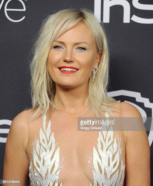 Actress Malin Akerman arrives at the 18th Annual PostGolden Globes Party hosted by Warner Bros Pictures and InStyle at The Beverly Hilton Hotel on...