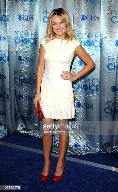 Actress Malin Akerman arrives at the 2011 People's Choice Awards at Nokia Theatre LA Live on January 5 2011 in Los Angeles California