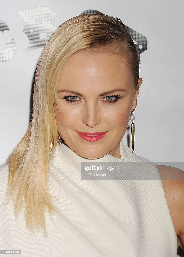 Actress Malin Akerman arrives at the 'CBGB' Special Screening at ArcLight Cinemas on October 1, 2013 in Hollywood, California.